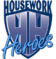 Housework Heroes | Home Cleaning | Domestic Cleaning | Australia Retina Logo