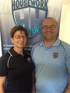 Simon & Tara, your local Housework Heroes cleaners in Walkerville, Adelaide, South Australia